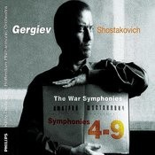 Shostakovich: War Symphonies (5 Cds) Songs