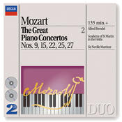 Mozart: The Great Piano Concertos Nos. 9, 15, 22, 25 & 27 Songs