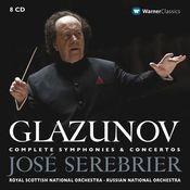 Glazunov : Complete Symphonies & Concertos Songs