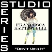 Don't Miss It [Studio Series Performance Track] Songs
