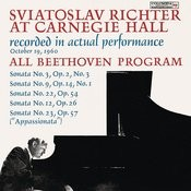 Sviatoslav Richter Live At Carnegie Hall: All Beethoven Program (October 19, 1960) Songs