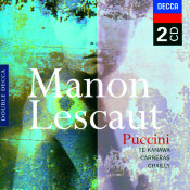 Puccini Manon Lescaut Songs