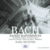 Bach, J.S.: Sacred Masterpieces (10 CD's) Songs