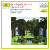 Bach: English Suite No.3; Capriccio BWV 922 / Transcriptions for Piano Songs