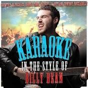 Karaoke (In The Style Of Billy Dean) Songs