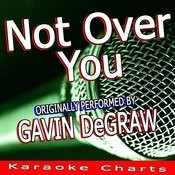 Not Over You (Originally Performed By Gavin Degraw) [Karaoke Version] Song
