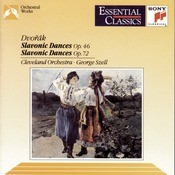 Dvork:  Slavonic Dances, Op. 46 & 72 Songs