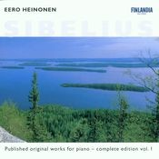 Sibelius : Published Original Works for Piano - Complete Edition Vol. 1 Songs