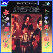 Byrd: Cantiones Sacrae 1575 Songs