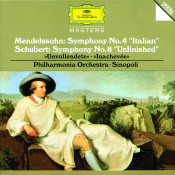 Schubert Symphony No 8 In B Minor D759 Unfinished Mendelssohn Symphony No 4 In A Major Op 90 Songs