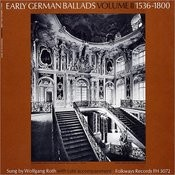 Early German Ballads, Vol.2: 1536-1800 Songs