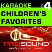 Karaoke - Children's Favorites, Vol. 4 (Professional Performance Tracks) Songs
