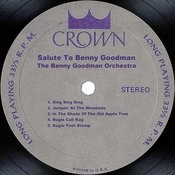 Salute To Benny Goodman Songs
