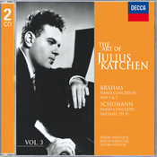 The Art Of Julius Katchen Vol.3 Songs