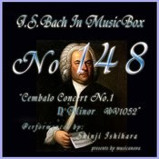 Cembalo Concert No1 D Minor Bwv1052 1st Mov Allegro Song