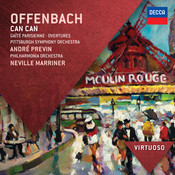 Offenbach: Can Can; Gaité Parisienne; Overtures Songs