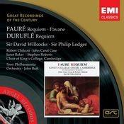 Fauré: Requiem, Pavane . Duruflé: Requiem Songs