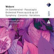Webern : Im Sommerwind, Orchestral Works & Variations (APEX) Songs