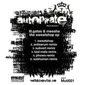 The Sweatshop - EP Songs