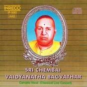 Carnatic Vocal - Sri Chembai Vaidyanatha Baghavathar - Live Concert - 3 Songs