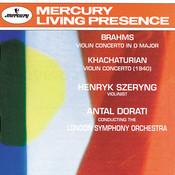 Brahms: Violin Concerto / Khachaturian: Violin Concerto Songs