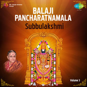 Balaji Pancharatnamala Vol 3 Songs