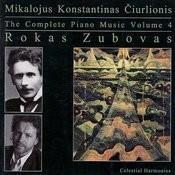 The Complete Piano Music Of Mikalojus Konstantinas Čiurlionis, Vol. 4 Songs