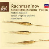 Rachmaninov: Complete Piano Concertos/Rhapsody on a Theme of Paganini Songs