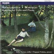 Shostakovich / Schubert : Sonatas for Cello and Piano Songs