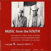 Music From The South, Vol.4: Horace Sprott, 3 Songs