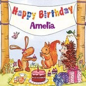 Happy Birthday Amelia Songs