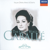 The Great Voice of Montserrat Caballé - Italian Opera Arias & Duets Songs