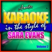 Karaoke - Sara Evans Vol. 2 Songs