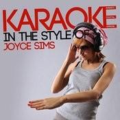 Karaoke (In The Style Of Joyce Sims) Songs