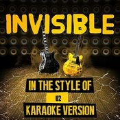 Invisible (In The Style Of U2) [Karaoke Version] - Single Songs