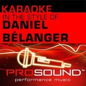 Rever Mieux (Karaoke Lead Vocal Demo)[In The Style Of Daniel Belanger] Song