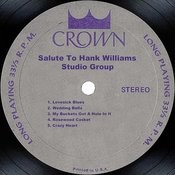 Salute To Hank Williams Songs