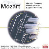 Mozart: Concertos for Clarinet, Oboe & Bassoon Songs
