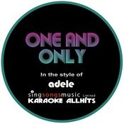 Adele - One And Only (Karaoke Audio Instrumental) Songs