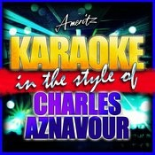 Karaoke - Charles Aznavour Songs