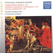 Mozart: Coronation Mass K317 Songs