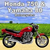 Honda 750 & Yamaha 80 Motorcycle Sound Effects Songs