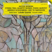 Schoenberg: Ode to Napoleon; Webern: String Trio Songs