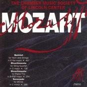 Quintet K.407/Divertimento K.136/Divertimento K.254/Serenade K.388 Songs