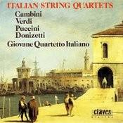 Italian String Quartets Songs