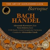 Bach: Orchestral Suite No. 2 - Handel: Harp Concerto in B-Flat Major Songs