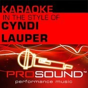 Time After Time (Karaoke Lead Vocal Demo)[In The Style Of Cyndi Lauper] Song