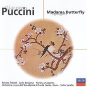 Puccini: Madama Butterfly (highlights) Songs