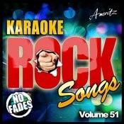 Karaoke - Rock Songs Vol 51 Songs