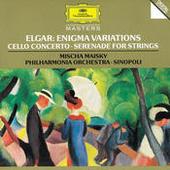 Elgar: Enigma Variations; Cello Concerto; Serenade For Strings Songs